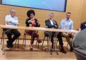 Yvon speaking at Wrexham University 2015