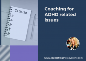 Coaching ADHD challenges, executive functioning, organisation, planning, performance, consistency