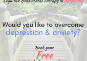 Overcome depression and anxiety using CBT