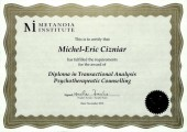Diploma in Transactional Analysis Psychotherapeutic Counselling