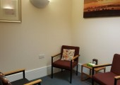 Palmer Room - 1st Floor - This warm and relaxing counselling space is situated on the first floor