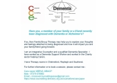 Family Therapy for people living with Dementia and their family<br />£50 for 60 min session for up to 4 people