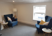 My therapy room at 42B Worcester Road