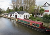 Godalming - a short walk from the river