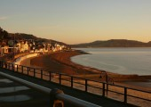 Lyme Regis - At the end of a busy day a walk along this beach gives me perspective, peace and a quiet serenity