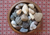 Counselling room - Stones used in counselling session