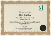 Clinical Diploma in Transactional Analysis Psychotherapy
