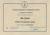 Certified Transactional Analyst