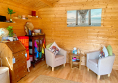 Calm Cabin<br />Therapy Space