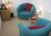 The counselling room