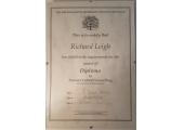 My Diploma Certificate.