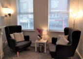 Battersea Rise therapy room - A quiet, comfortable space & time for you to talk