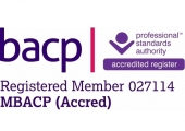 BACP<br />Registered and Accredited member