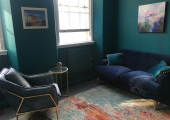 The therapy room in Central London