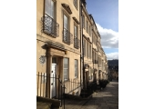 My consulting room 2 minutes walk from Milsom Street, Bath.
