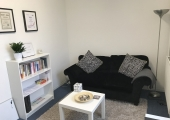 Quiet and confidential therapy room in St Albans