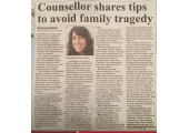 In the press<br />An article about helping your teenager through life.