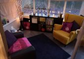 From my practice in Glossop, I offer a calm, comfortable space