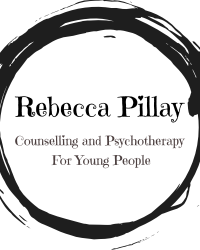 Rebecca Pillay MBACP(reg.) Counselling and Psychotherapy for Young People.