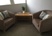 Nora House, Psychotherapy and Counselling Practice | Rugeley<br />Nora House therapy and counselling room 1