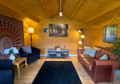 My counselling space - The log cabin