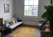 My counselling room at City Road, EC1V