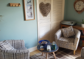 One of our welcoming counselling rooms