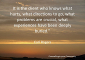 Resilience quote - Carl Rogers quote