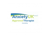 Anxiety UK Badge<br />Anxiety UK Approved Therapist