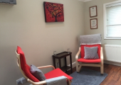 Counselling Room Interior<br />A peaceful space enabling you to switch off from the outside world