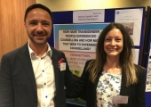 At the BACP conference 2018
