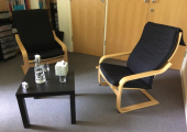 Counselling room at the Underhill Centre