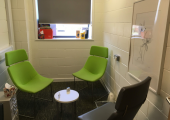 Counselling room at the Salvation Army
