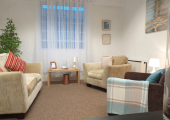 The larger therapy room<br />Ideal for relationship and family therapy setting