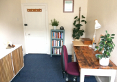 My psychotherapy practice in Sudbury.<br />Sessions take place in my comfortable and private consulting room in the centre of Sudbury - and will be held at the same time each week.