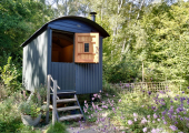 The shepherds hut I practice from