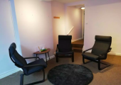 Counselling Room - Our private counselling room in newly refurbished and wheelchair accessible
