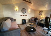 The Therapy Cabin - Counselling sessions are available in a beautiful, private wood cabin