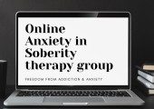 Anxiety in soberity (recovery) therpy group