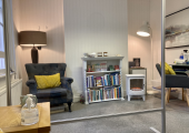 My therapy room at 21, St Cuthberts Street, Bedford