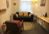 My therapy room, 37-41 Gower St, WC1
