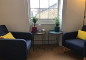 Counselling Room, Chancery Lane & Holborn, London<br />My counselling space