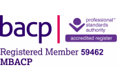 Registered Member of the British Association of Counselling and Psychotherapy (MBACP)