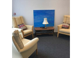 One of the therapy rooms