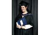 Graduating from University of Brighton