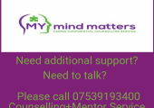 MY mind matters<br />Counselling and Mentor services