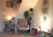 Chris Henden Counselling and Psychotherapy room view 2