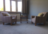 My calm and relaxing therapy room: space and time for you