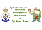 North Devon Military Veterans Mental Health & Peer Support Group<br />https://www.facebook.com/militaryveteranmentalhealthsupport/
