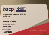 MBACP registered Counsellor:- Joanne Mariner